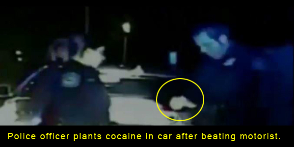 "It seems a good bet that the drug planting was not mentioned at his sentencing because to do so would have called into question every drug arrest ""Officer"" Melendez and his corrupt cop cronies were involved in. Floyd Dent, the victim of the beating, arrest and attempting drug framing, passed a lie detector test and his fingerprints weren't found on the baggie of white powder that was found in his car."
