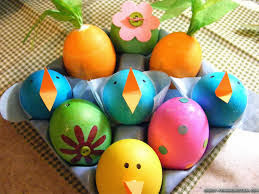 Easter Projects For Toddlers 2: Colorful Eggs 4