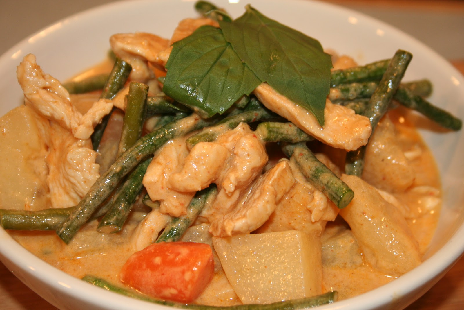 panang curry is my new favorite thai curry it has a mild flavor that ...
