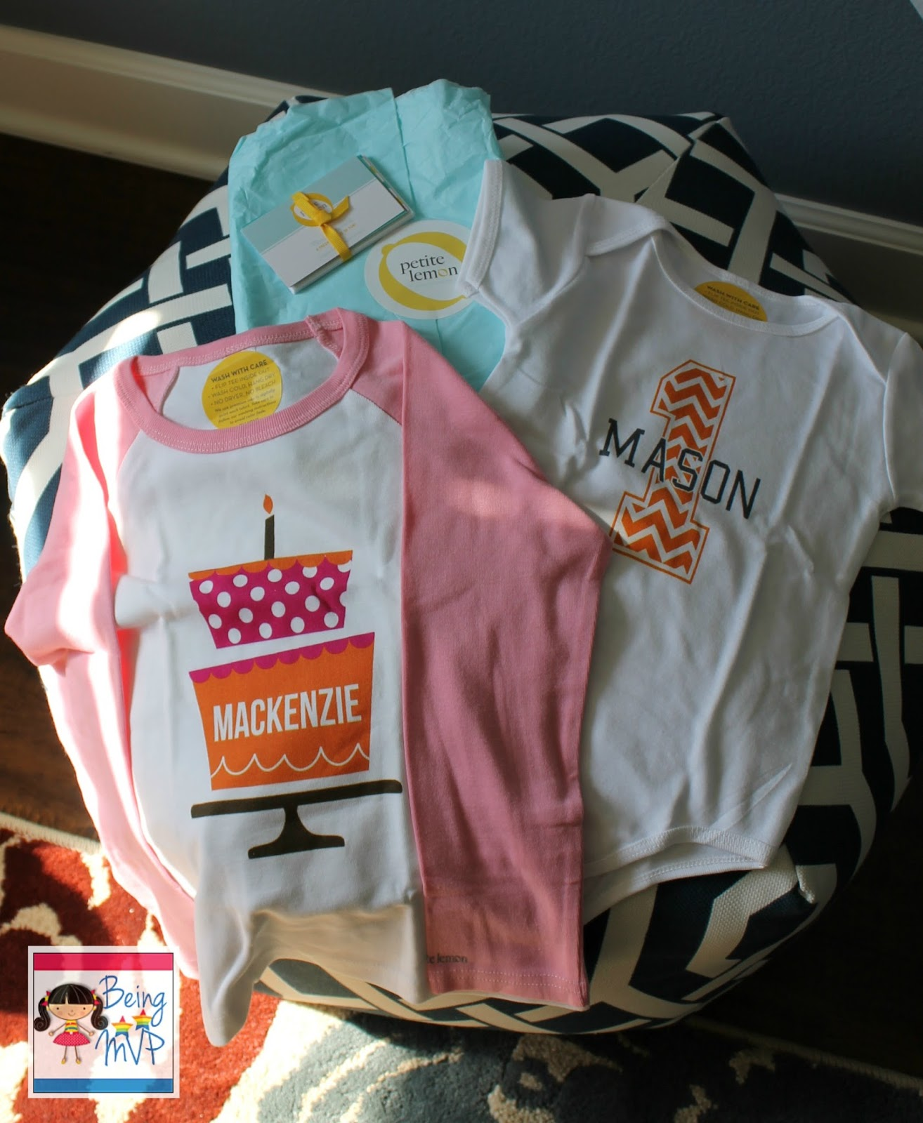 The American Apparel Chevron Birthday Onesie Fits Mason To A Tee Size 12 18m But Kenzies Shirt 6