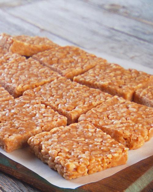 No-Bake Peanut Butter Rice Krispies Cookies | Cook'n is Fun - Food ...