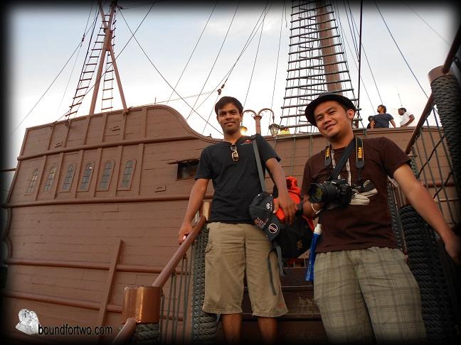 Melaka trip flor de la mar for Balcony 52 melaka