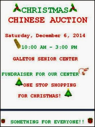 12-6 Christmas Chinese Auction