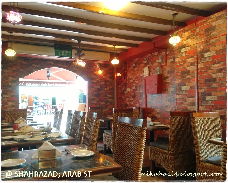 Mikahaziq halal restaurant at arab street singapore for Arab cuisine singapore