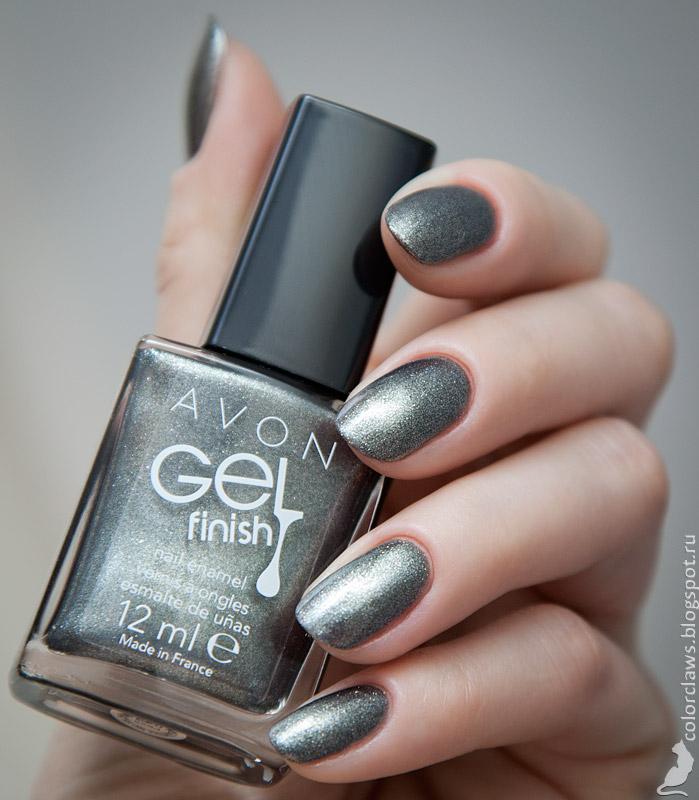 Avon Gel Finish Sterling