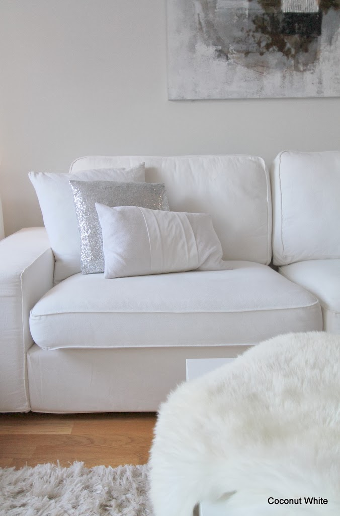 Toivepostaus Ikean Kivik sohvan kokemuksia  Coconut White