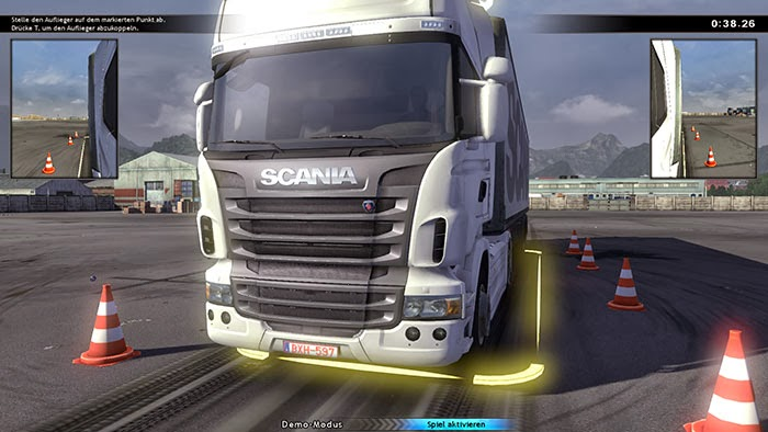 Scania truck driving simulator 1.5