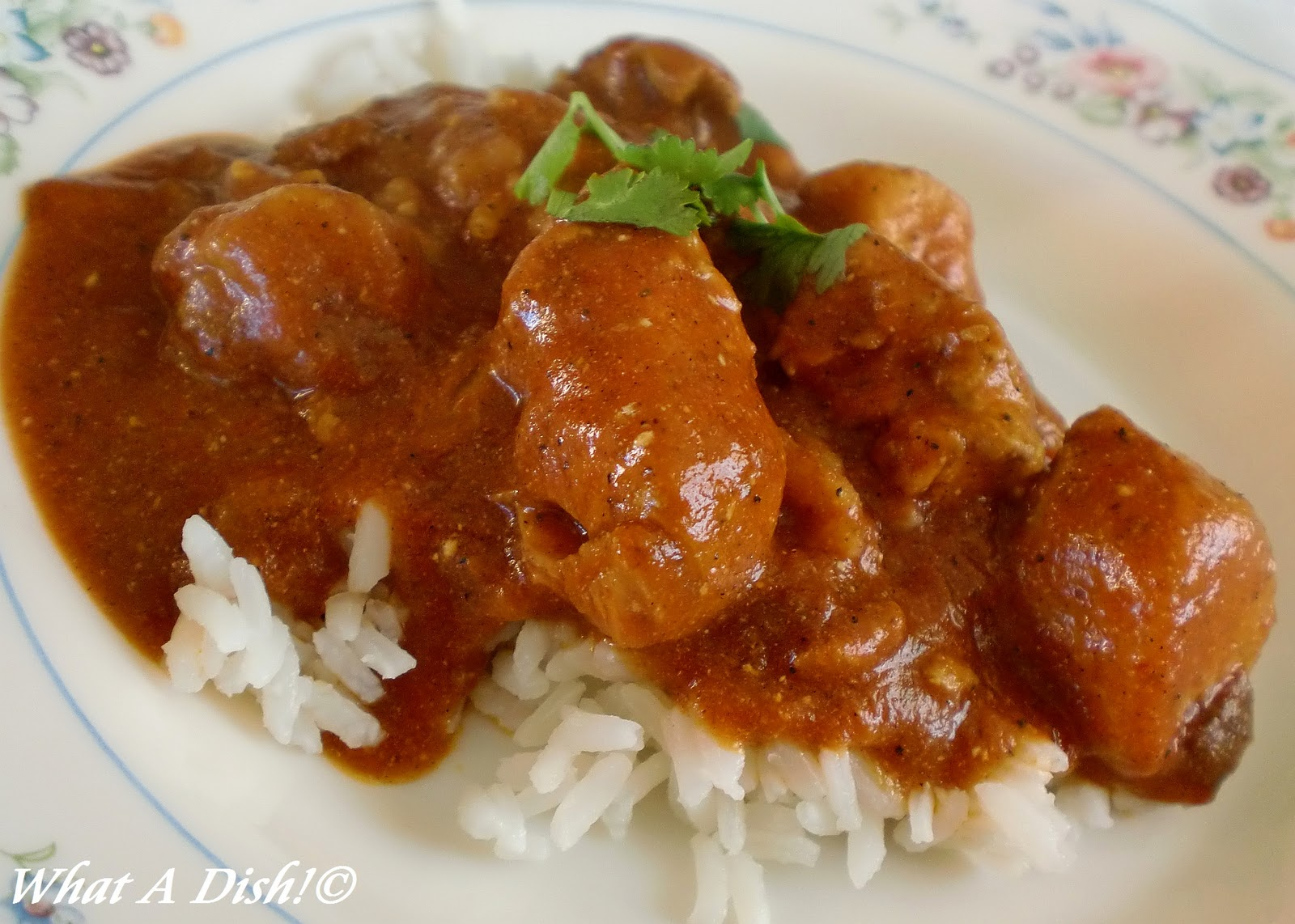 What A Dish!: Slow Cooker Indian Butter Chicken