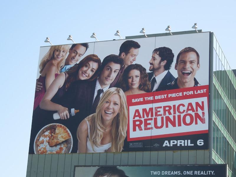 American Reunion movie billboard