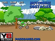 Moto vượt chông gai, game lai xe