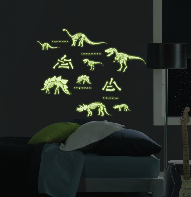 glow in the dark bedroom ideas