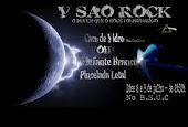cartaz do V SÃO ROCK