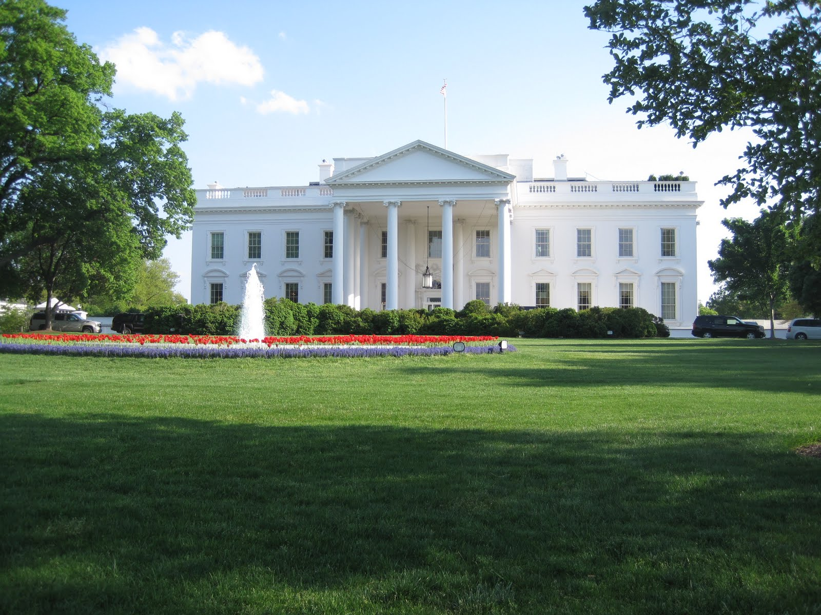 Kris 39 s 2011 a photo a day back side of the white house for The white housse
