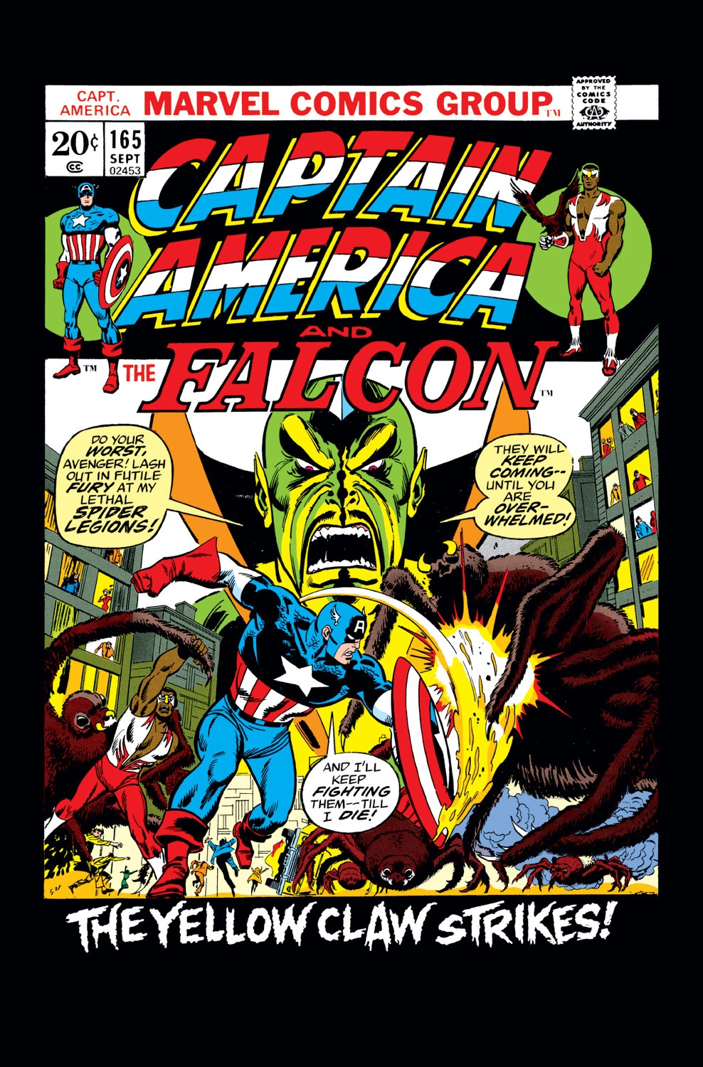 Captain America (1968) Issue #165 #79 - English 1