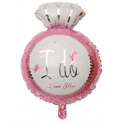 Balon Foil Cincin I DO LOVE YOU