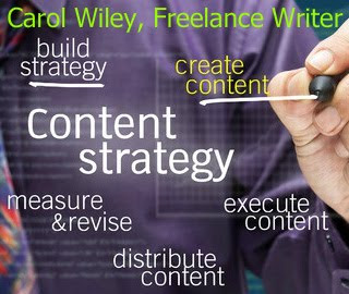 Content Strategy | Content Writing From Carol Wiley