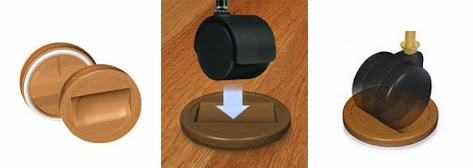 Charming Furniture Wheel Stoppers   No More Rolling Beds And Chairs