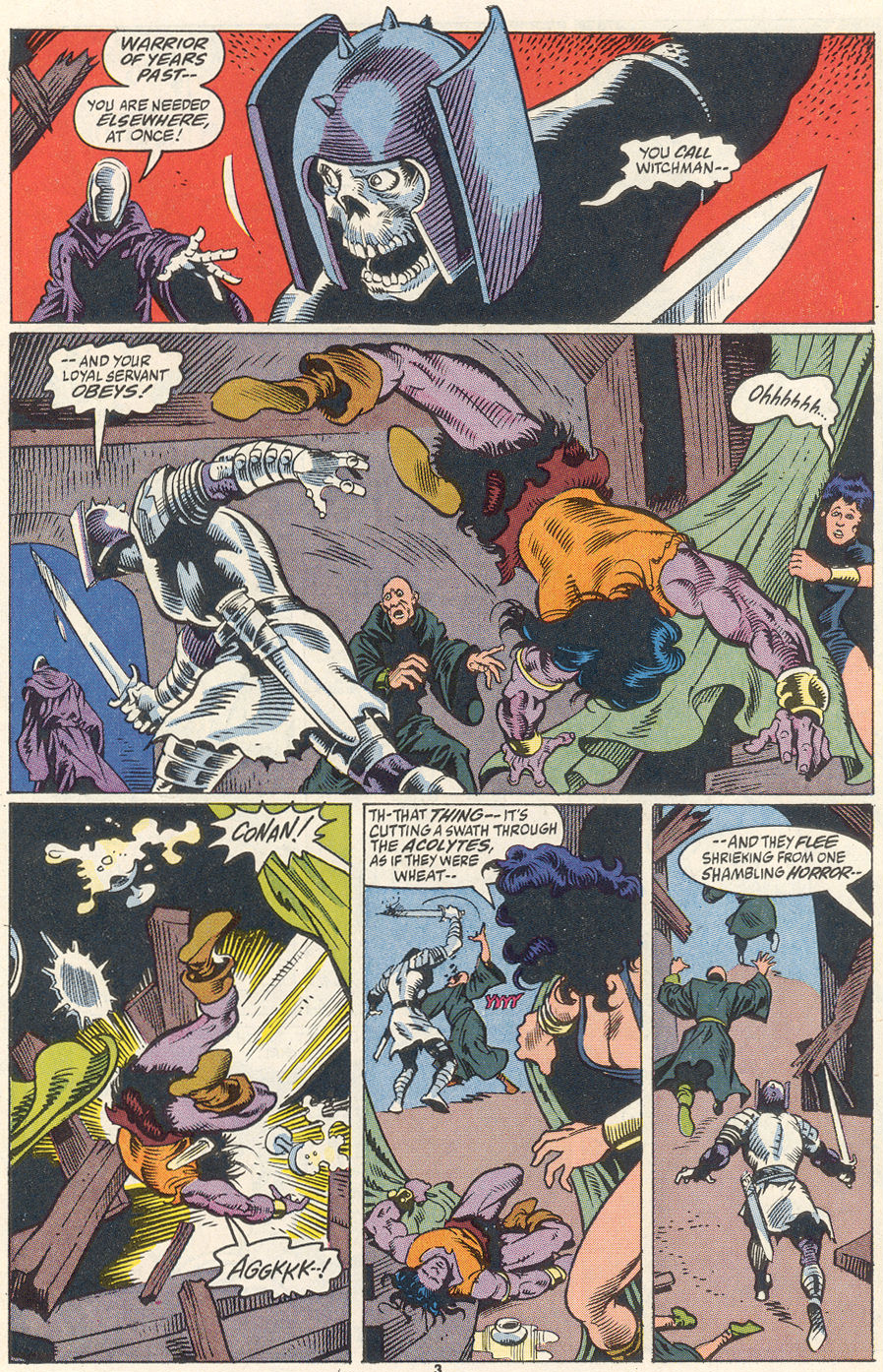 Conan the Barbarian (1970) Issue #256 #268 - English 4