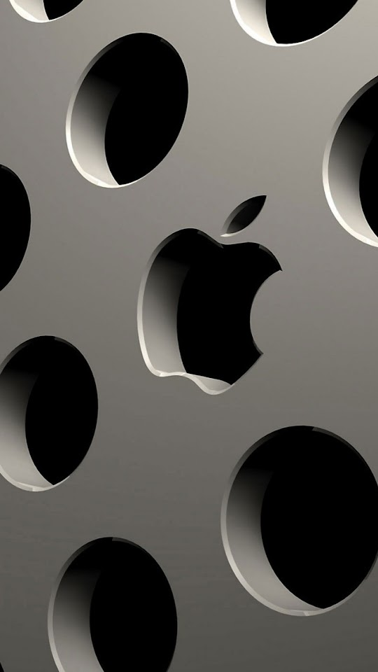 Apple Logo Carving  Galaxy Note HD Wallpaper