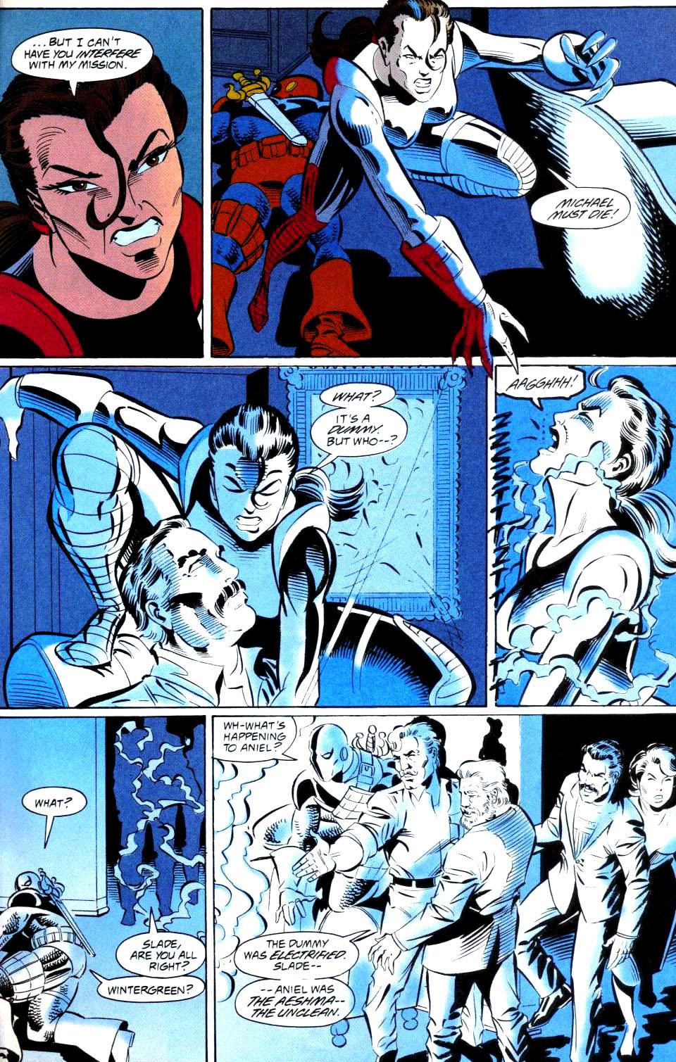 Deathstroke (1991) Issue #38 #43 - English 14