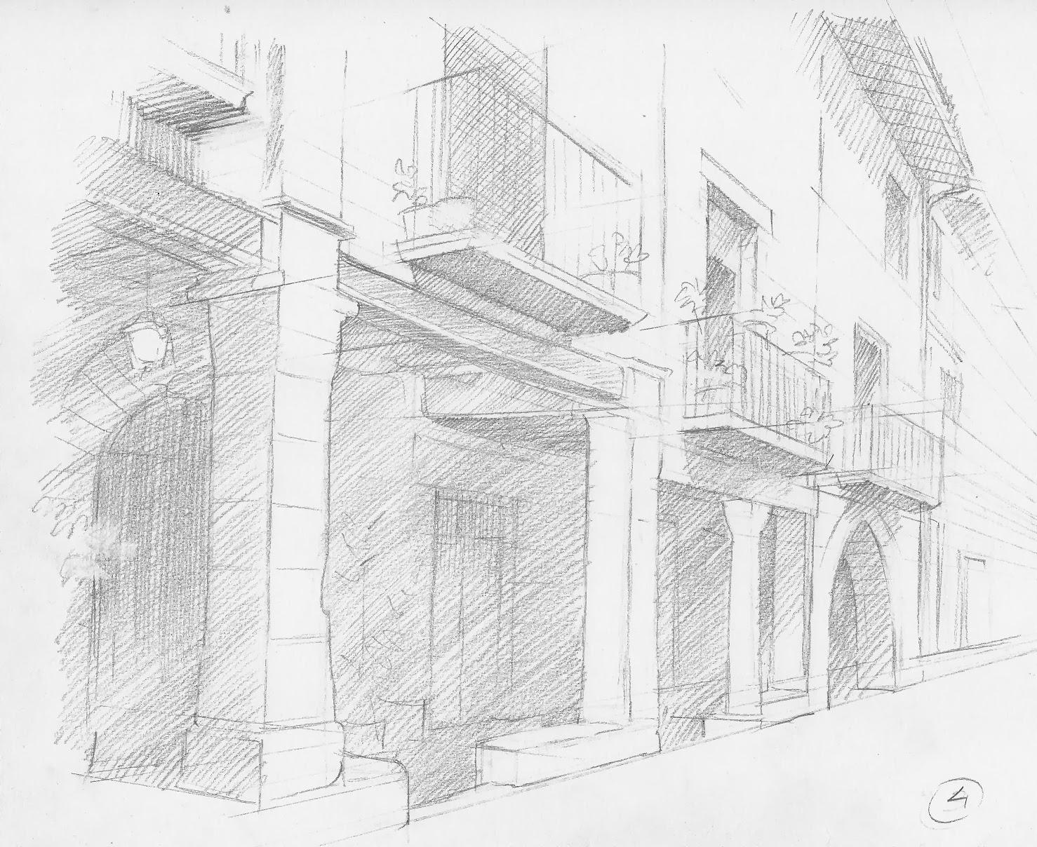 Isidre mones art dibujo de arquitectura popular paso a paso - Mesa de dibujo para arquitectura ...