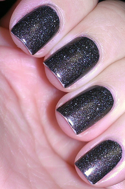 brown scattered holo