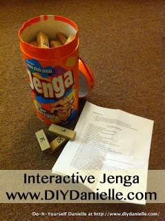 How to use Jenga in therapy or to get to know your child better