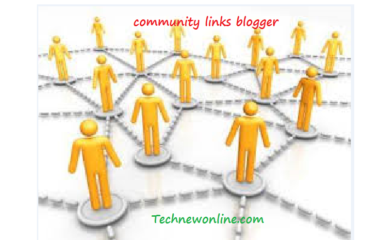 Community Links blogger