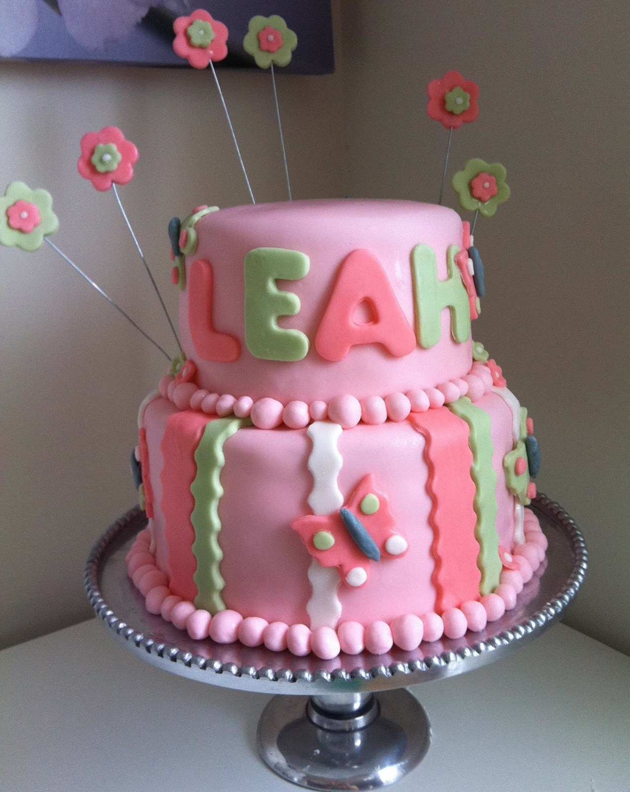 Birthday Cakes for Girls: Make Surprise with Adorable Design
