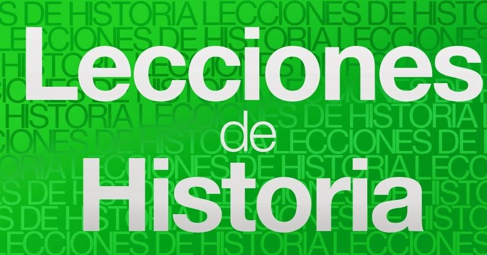 Lecciónes de historia