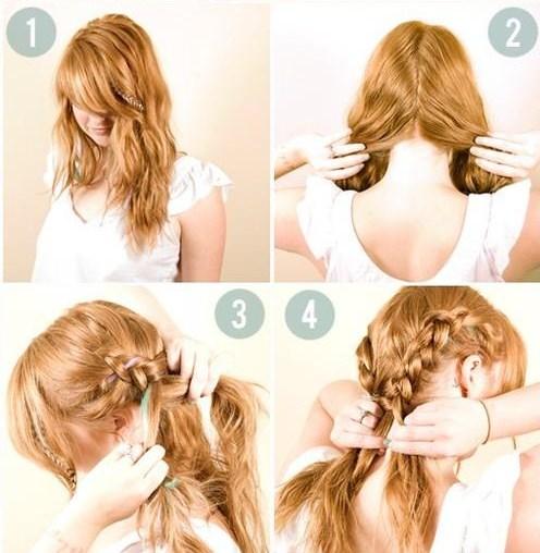 5 peinados f ciles paso a paso para diario belleza - Peinados para hacerse una misma ...