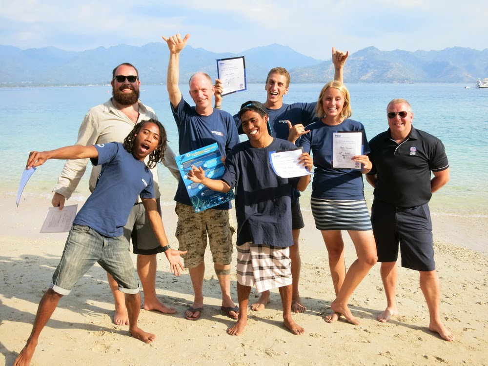 PADI IE August 2014, Gili Air, Indonesia