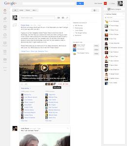 Google+ Newsfeed