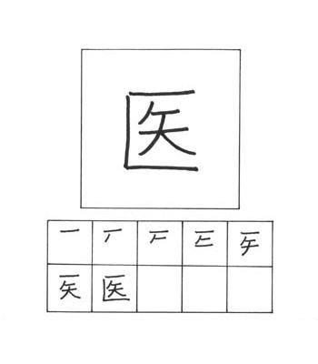 kanji kedokteran
