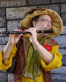 Musician at Renaissance Festival in Deerfield Beach
