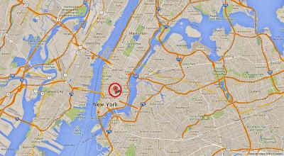mapa CBGB