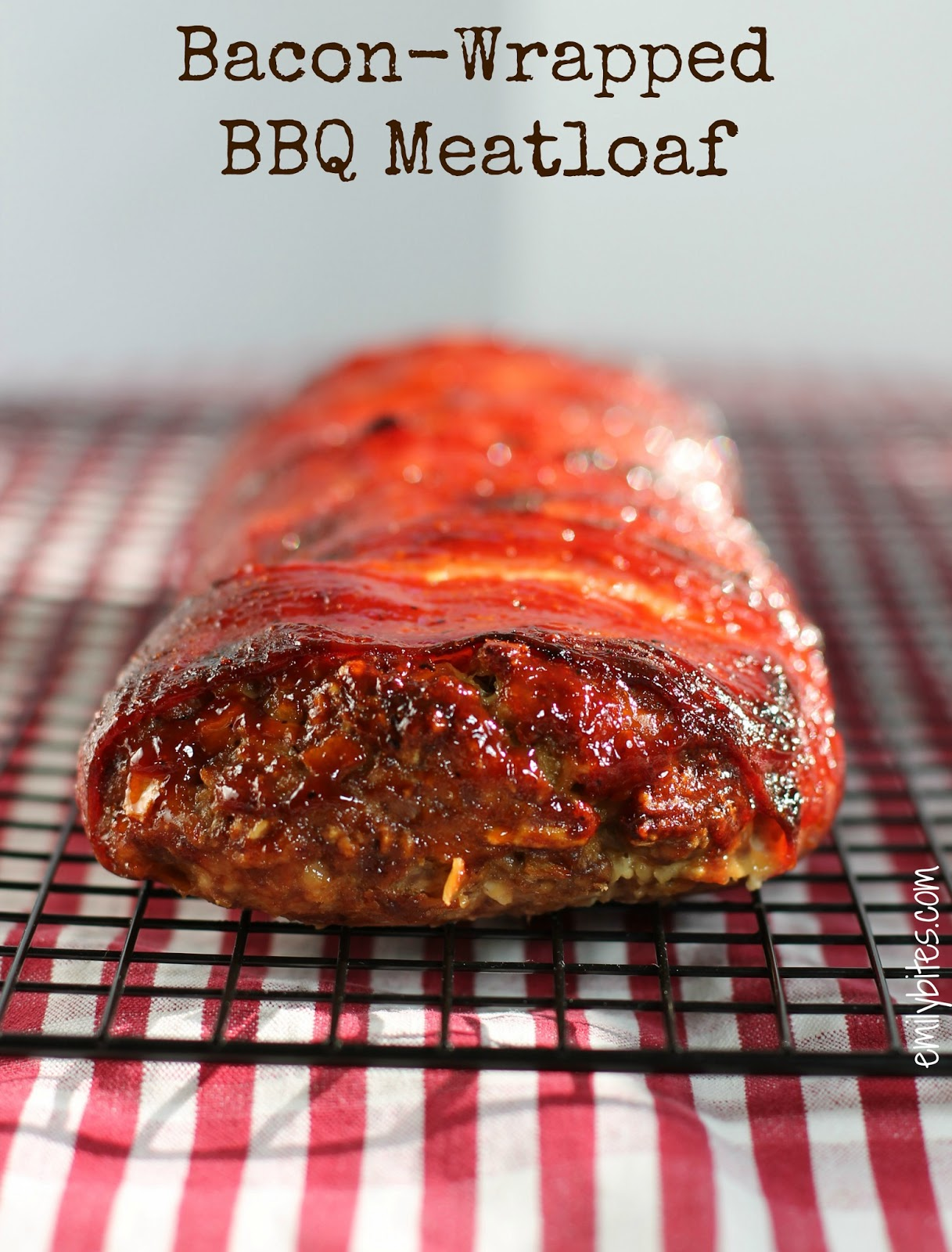 Bacon-Wrapped BBQ Meatloaf | Pinnutty.com