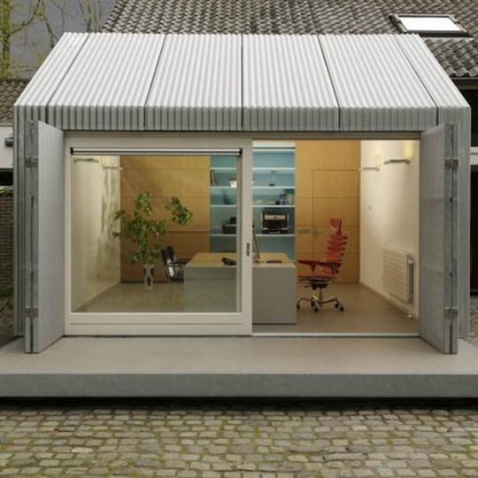 A Minha Alegre Casinha: Garagem Escritório