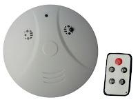 Camera espion détecteur de fumée