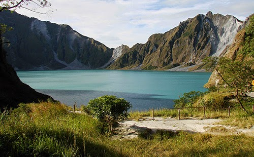 Mount Pinatubo Volcano in the Philippines