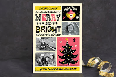 Minted Vintage Photo Holiday Card