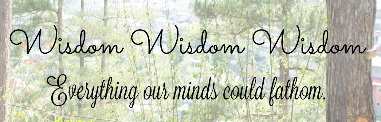 Wisdom a la Fleur