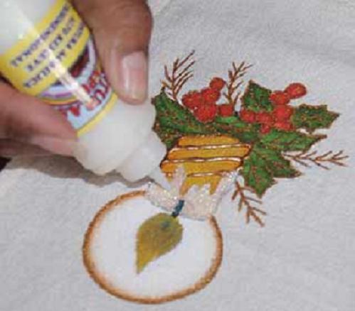 Pintura en tela a mano manteles e individuales pintados a - Pintura en tela motivos navidenos ...