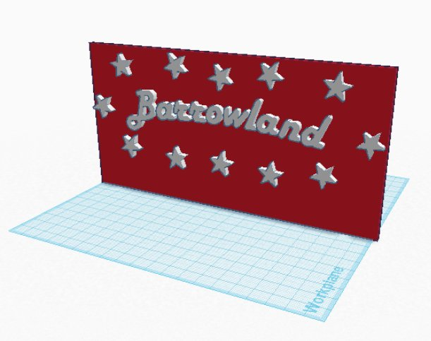Barrowland Ballroom Sign STL