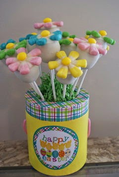 Flower Cake Pop Bouquet by Regina Votava