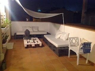 Sobesonhome mi terraza chill out de palets - Terraza palets chill out ...