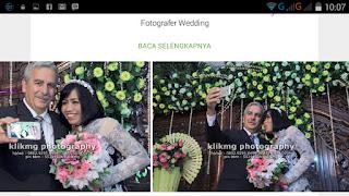 Dokumentasi Foto Pernikahan RUMI & LOUIS di Google Playstore  Foto oleh Klikmg.com Photography [ Fotografer Wedding ] Purwokerto