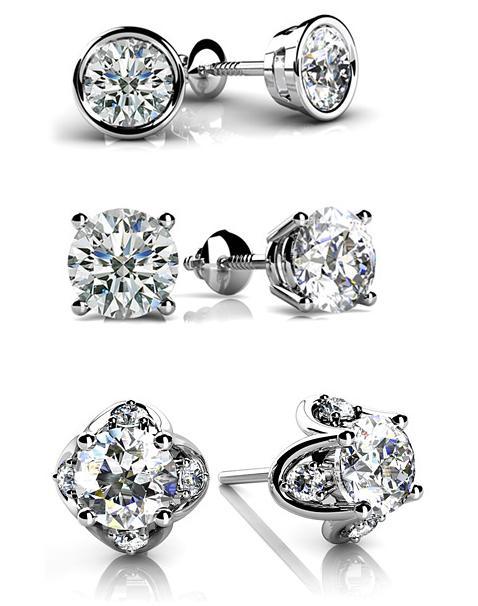 Savvy Mode Team Cer Diamond Earrings Vs Solitaire