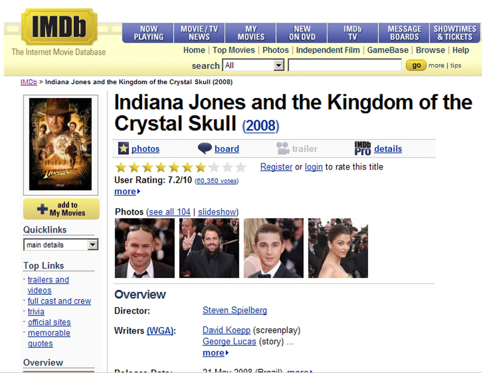 Imdb movie database