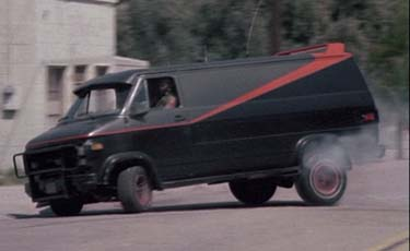 1983 gmc vandura the a team van cool cars in movies. Black Bedroom Furniture Sets. Home Design Ideas